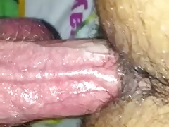 Daddy barebacks his Slut with big dick