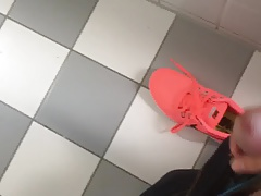 I sniff the sneakers of a former classmate