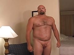 Big Bear strip, Jo, shower