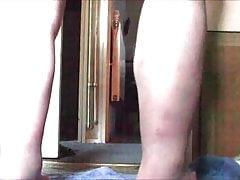 Bathroom anal aubergine gapes - 4 videos