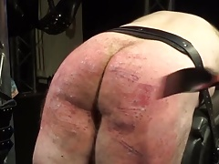 heavy whipping and ballbusting