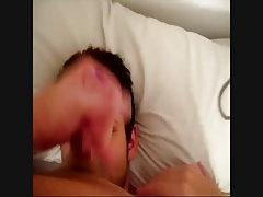 Painting his fucking face with cum 2