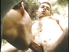 Hot gay guys fucking in the forest