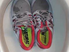 piss net fan sneakers