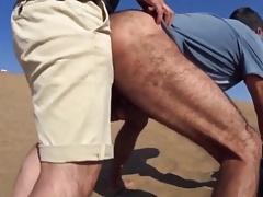Cruising Stranger Who Met On A Dune