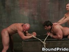 Brenn and Chad in extreme gay bondage and torture