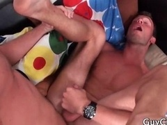 A pair of horny gay lovers in true sexual