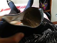 Pantyhose With Comdom Cumming