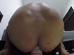 Extreme ass gape for daddy
