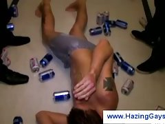 Hazing the college guys