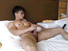Young Muscle Jock Huge Load Cumshot