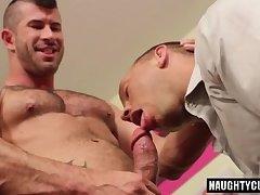 Hot gay rough sex and cumshot