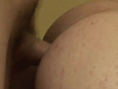 Homo blows a cock and gets rammed in the ass