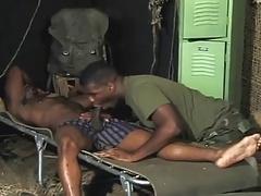 Black army dudes