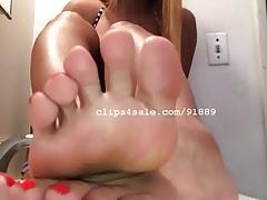 Foot Fetish - Selena Feet Video 1