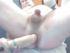 JoeyD doing anal positions new place sweet butt 1