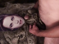 Playing with Kristen Stewart in fur