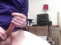 Big Squirting Spunk Load!