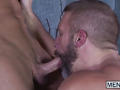Roman Todd and Dirk Caber enjoy hotel fuck session