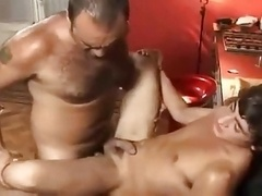 Having sex with daddy