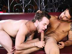Hardcore gay straight dude Colton Grey and Vadim Black enjoys anal bareback