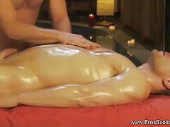 Beautiful Massage For His Pleasure