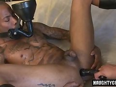 Big dick son piss with cumshot
