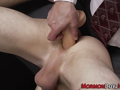 Mormon twinks ass spanked