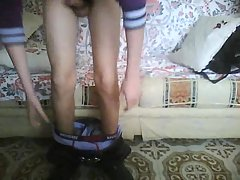 Slim Boy Wanking On Cam At Home