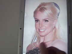 Britney Spears Cum Tribute 62