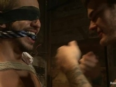 Ardent BDSM scene with Bryan Cole and Christian Wilde