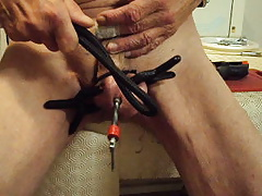More cock and ball clamping