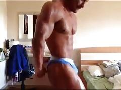 Muscle bulgarian escort Georgi Kiriakov showing bulge