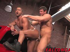 Zeb Atlas punishes Micahs tight hot hole with fierce thrusts