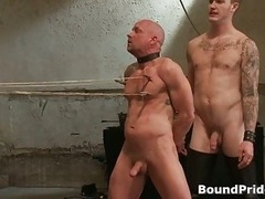 Ned and additionally Chad in utterly extreme man-loving porn bondage