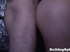 Euro top doggystyle drilling tight stud