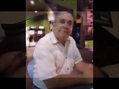 Pastor Obed Ramos show his cock Amen