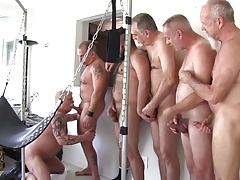 A Great Baraback Daddy Orgy