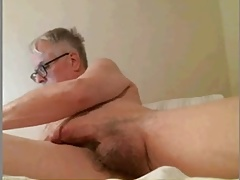 Mature man showing off for his students Part 1