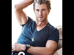 Chris Hemsworth Jerk Off Cum Challenge Gay Compilation