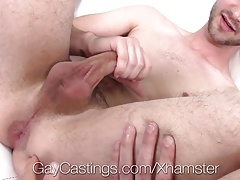 GayCastings - Newcomer gets fucked for the first time