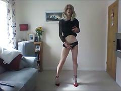 sexy black lace minidress