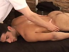 dirty Hunky Adrian Getting valuable Sensual Massage On His Searing Body And Hard Tool