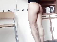 Long legged tgirl