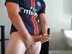 Soccer guy penis