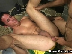 A fag allows his BF to smash his butt and cover his body with jizz
