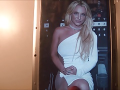 Britney Spears Cum Tribute 60