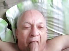 Older men sucking another men cock