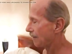 Two mature gay grandpa sucking each other