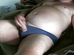Another Panty Wank Of Tiny Penis